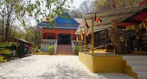 Phnom banan temple area. Phnom banan temple complex in cambodia royalty free stock image