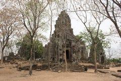 Phnom Banan Temple. Battambang, Cambodia. N ancient Hindu temple. Battambang, Cambodia Royalty Free Stock Image