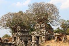 Phnom Bok świątynia Kambodża Siem Przeprowadza żniwa miasto Siem Przeprowadza żniwa prowincję Zdjęcia Stock