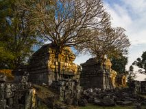 Phnom Bok tempel Arkivbilder