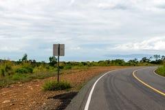 Phnom Bokor Kampot, Cambodia June 2015. Road to the top of Bokor Stock Photos