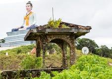 Phnom Bokor Kampot, Cambodja Juni 2015 royaltyfri foto