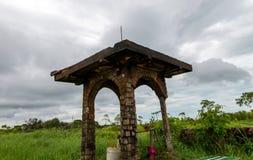 Phnom Bokor Kampot, Cambodja Juni 2015 royaltyfri fotografi