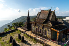 Phnom Bokor Temple Oct 2015. Old temple on the top of mountain Stock Photos