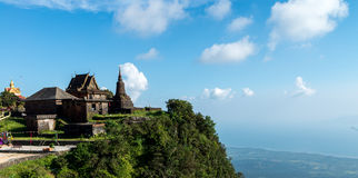Phnom Bokor Temple Oct 2015. Old Temple on the top of mountain Stock Photography