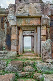 Phnom Chiso. A door looking out of the ruins of Phnom Chiso, Cambodia Royalty Free Stock Photo