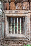 Phnom Chiso Window Royalty Free Stock Images