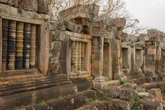 Phnom Chisor,柬埔寨2015年4月 免版税库存图片
