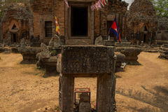 Phnom Chisor, Cambodia April 2015 Royalty Free Stock Photos