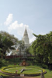 Phnom de Wat en Phnom Penh imagen de archivo