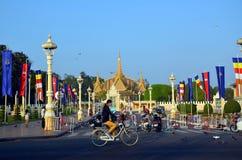 phnom penh дворца королевское Стоковое Изображение RF