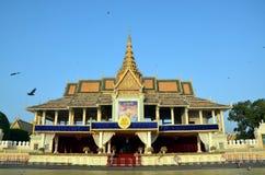 phnom penh дворца королевское Стоковое Фото