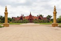 phnom penh музея национальное Стоковые Фото