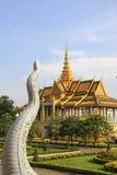 phnom penh дворца королевское Стоковое Изображение