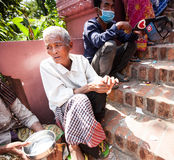 PHNOM PENH, CAMBODIA -  homeless people Stock Photos