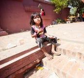 PHNOM PENH, CAMBODIA -  homeless people Stock Photo