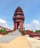 Phnom Penh in Cambodia. The Independence Monument at the capital city Phnom Penh in Cambodia Royalty Free Stock Photos