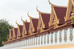 Phnom Penh, Cambodia - Jan 30 2015: Royal Palace. a famous Histo Royalty Free Stock Photography