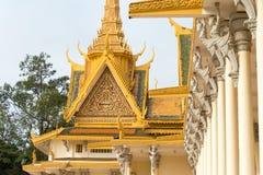 Phnom Penh, Cambodia - Jan 30 2015: Royal Palace. a famous Histo. Rical site in Phnom Penh, Cambodia Stock Photos