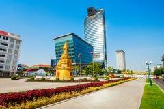 Vattanac Capital Tower, Phnom Penh Stock Photo