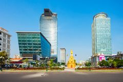 Vattanac Capital Tower, Phnom Penh Royalty Free Stock Image