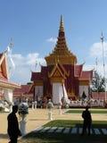 PHNOM PENH, CAMBOJA - 5 de fevereiro de 2013 - preparações para o l fotos de stock