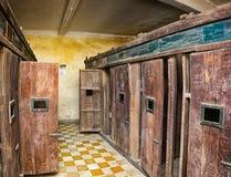 PHNOM PENH, CAMBOYA - CIRCA DICIEMBRE DE 2013: Sitio con las porciones de cámara Imagen de archivo