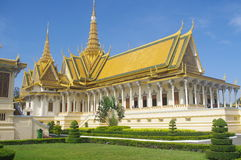 Throne Hall in Phnom Penh stock photography