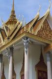 Kinnara and Silver Pagoda royalty free stock photo