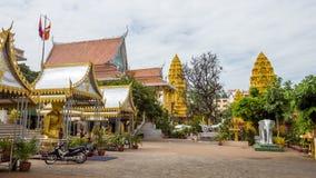 Phnom Penh, Capital Temple, , royal palace cambodia Stock Photo