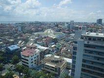 Phnom Penh centrale immagine stock