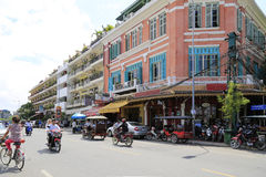 Phnom Penh city centre, Cambodia Stock Photos