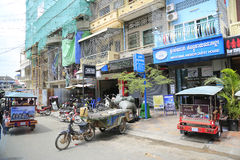 Phnom Penh city centre, Cambodia Stock Photography