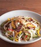 Phnom Penh ha grigliato il saland della barbabietola Immagini Stock