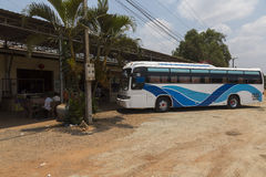 Phnom Penh - Ho Chi Minh bus Royalty Free Stock Photo