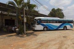 Phnom Penh - Ho Chi Minh bus Royalty Free Stock Photo