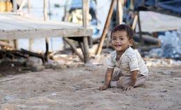 Phnom Penh i Cambodja Fotografering för Bildbyråer