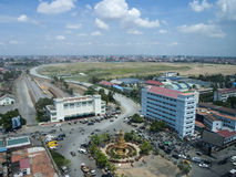 Phnom Penh järnvägsstation arkivbild
