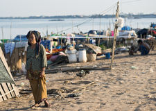 Phnom Penh in Kambodja Royalty-vrije Stock Foto
