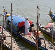 Phnom Penh in Kambodja royalty-vrije stock afbeelding