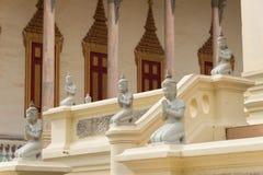 Phnom Penh, Kambodja - 30 Januari 2015: Zilveren Pagode (Wat Preah Keo Royalty-vrije Stock Afbeelding
