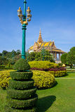 Phnom Penh kings palace garden Stock Photo