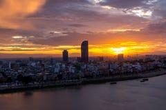 Phnom Penh le Cambodge en juin 2015 Photos libres de droits