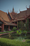 Phnom penh national museum Stock Photo