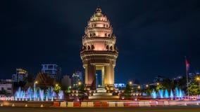 Phnom Penh, o Kingdom of Cambodia imagem de stock royalty free