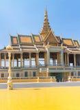 phnom penh pałac królewski Zdjęcie Stock