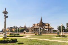 phnom penh pałac królewski Fotografia Royalty Free