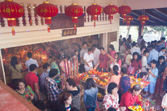PHNOM PENH People celebrate Chinese new year Royalty Free Stock Photography