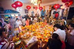 PHNOM PENH People celebrate Chinese new year Royalty Free Stock Image