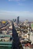 Phnom Penh przeglądu dzień zdjęcie stock